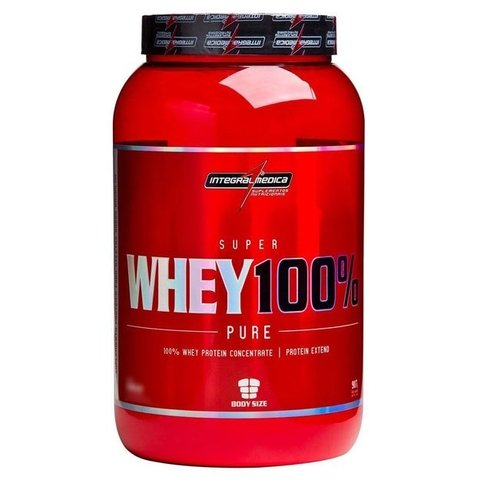 SUPER WHEY 100% 907G - INTEGRALMEDICA
