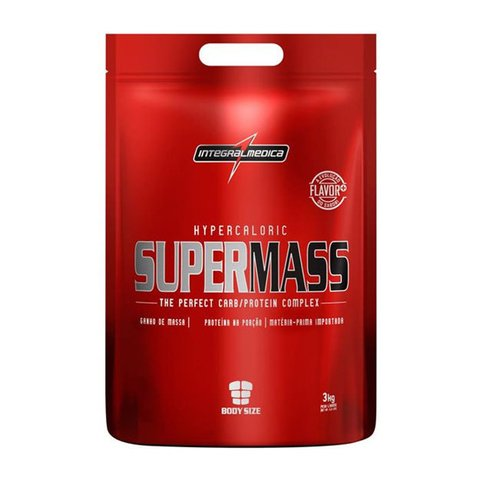 Refil com SUPERMASS 3KG - INTEGRALMEDICA