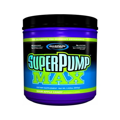 SUPER PUMP MAX 480gr - GASPARI NUTRITION