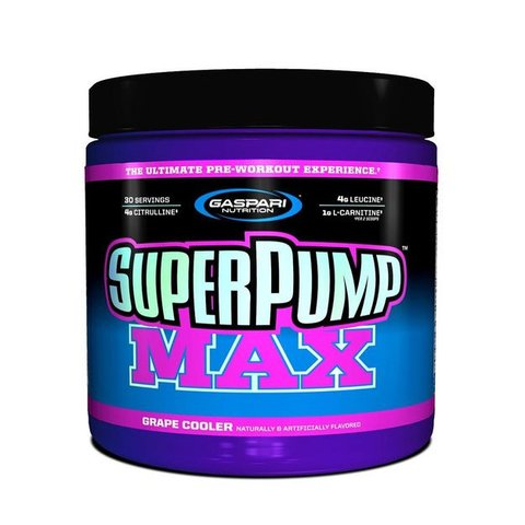 SUPER PUMP MAX 640G - GASPARI NUTRITION