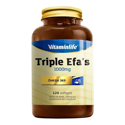 Triple Efas Omega 3 6 9 60(CAPS) - VitaminLife