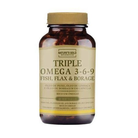 TRIPLE OMEGA 3-6-9 - NATURES GOLD