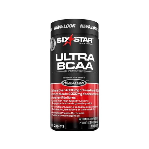 ULTRA BCAA SIX STAR BY 8:1:1 60(TABS) - MUSCLETECH