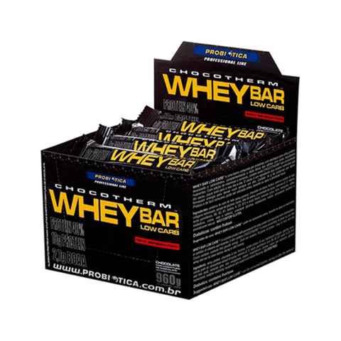 Caixa com WHEY BAR (LOW CARB) - PROBIÓTICA