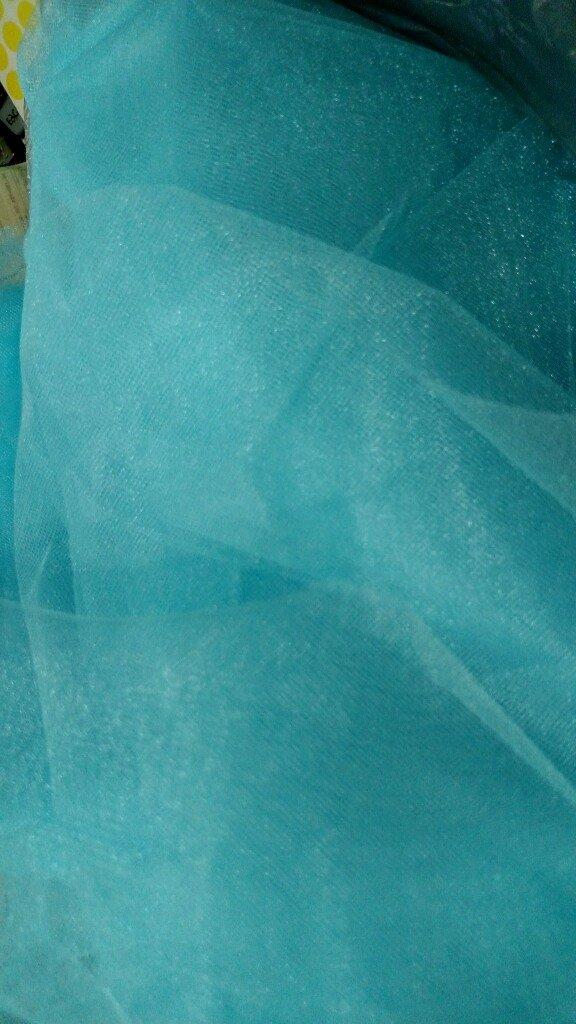 Tule Suiço - Azul Tiffany - Pronta Entrega - Largura 2,40 mts a8ec0206de