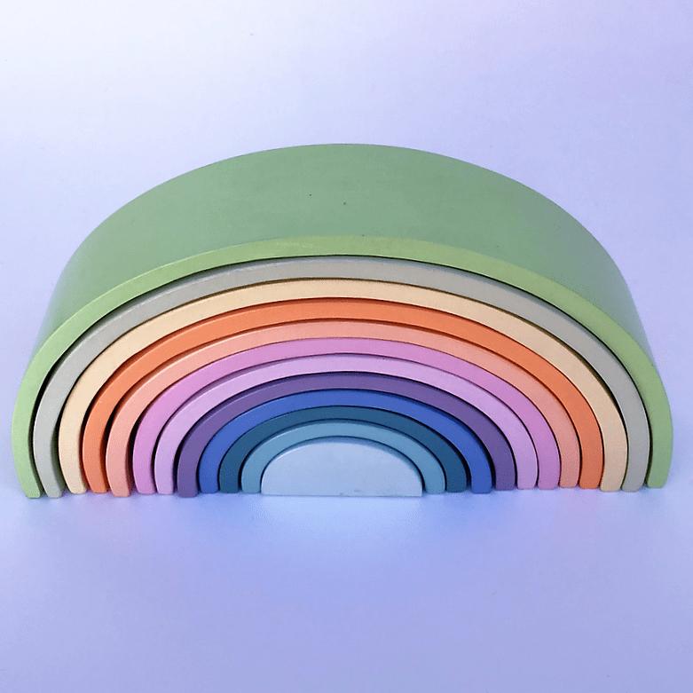 Arcoíris 12 Ancho Pastel (Enorme)