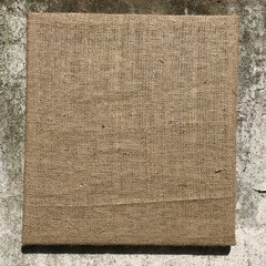 Burlap Covered Canvas | Size 40x40 cm on internet