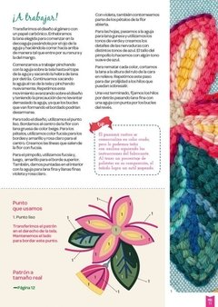 EXTRA LARGE 1 EMBROIDERY MAGAZINE FOR PUNCH NEEDLE / DECONEEDLE - buy online