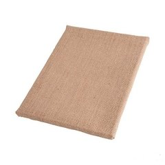 Burlap Covered Canvas | Size 40x40 cm - buy online