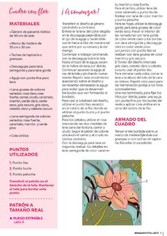 REVISTA BORDADO EXTRA LARGE 2 PARA DECOAGUJA en internet