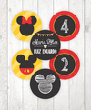 Imagem do Kit Digital para mesa - Festa Mickey e Minnie