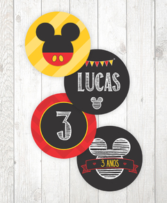 Kit Digital para mesa - Festa Mickey - www.joyinthebox.com.br