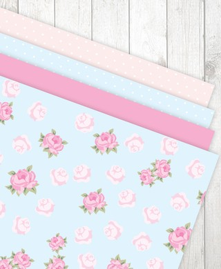 Estampas Shabby Chic