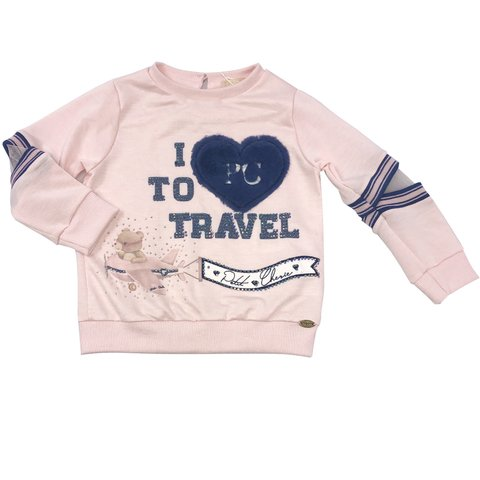 Moletom Travel Petit Cherie