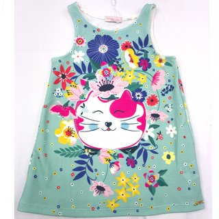 Vestido Casual Cats Tropical Mon Sucré
