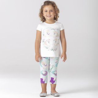 Conjunto Manga Legging Color Fresh Petit Cherie na internet