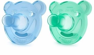 Chupeta Soothie Bear Menino 0-3 meses Philips Avent - comprar online