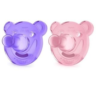 Chupeta Soothie Bear Menina 0-3 meses Philips Avent - comprar online