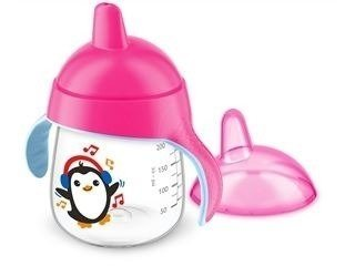 Copo Pinguim 260ml Rosa Philips Avent