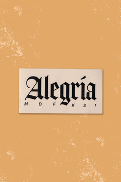 ALEGRÍA STICKER PACK X6 - Guapea