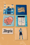 ALEGRÍA STICKER PACK X6