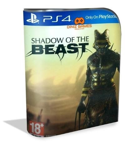 Shadow Of The Beast Psn Ps4 (original 1)