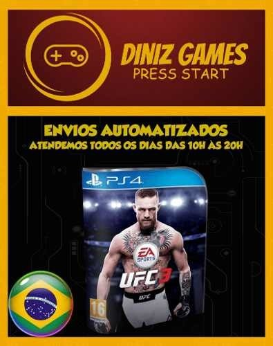 Ea Sports Ufc 3 Ps4 Psn (aluguel 15 Dias Original 1)