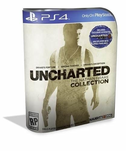 Uncharted Collection Psn Ps4 (aluguel 15 Dias Original 1)