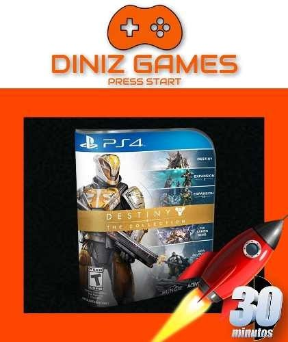 Destiny Collection Psn Ps4 (aluguel 15 Dias Original 1)