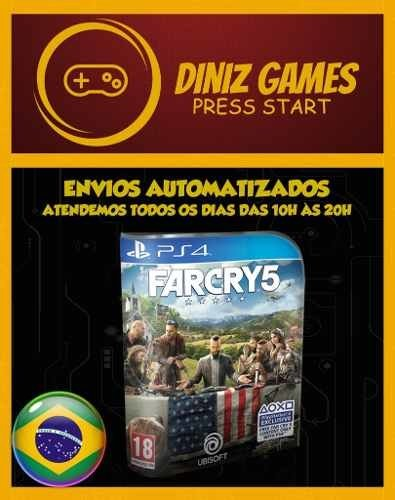 Far Cry 5 Ps4 Psn (aluguel 15 Dias Original 1)