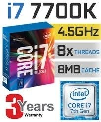 Kit I7 7700k +z270 Mark 2 + 16gb Ram