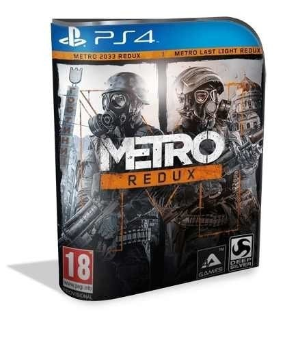 Metro Redux Psn Ps4 (vip Original 1)