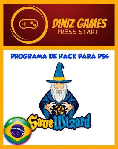 Save Wizard - Ps4 - 100% Original - Chave Full