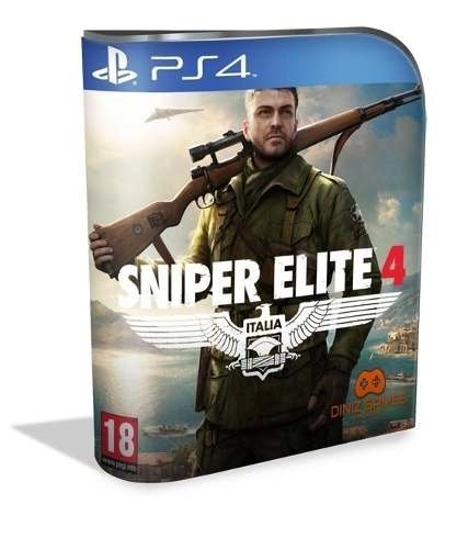 Snipe Elite 4 Psn Ps4 (vip Original 1)