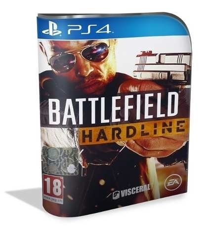 Battlefield Hardline Psn Ps4 (vip Original 1)