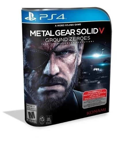 Metal Gear Ground Zeroes Psn Ps4 (bronze Original 2)