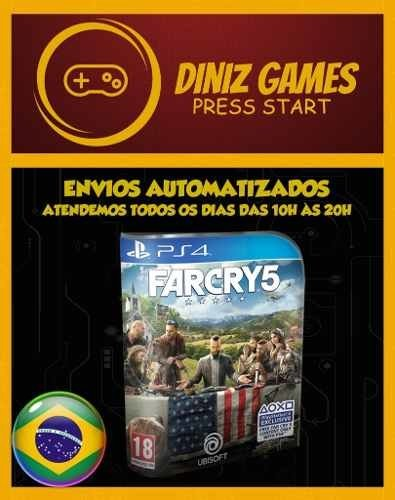 Far Cry 5 Ps4 Psn (aluguel 15 Dias Original 2)