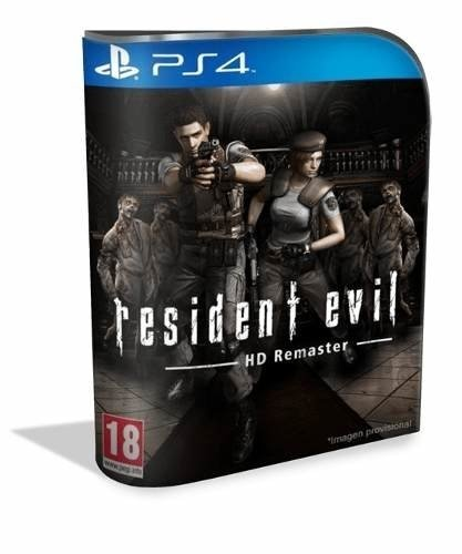 Resident Evil Remaster Psn Ps4 (vip Original 1)