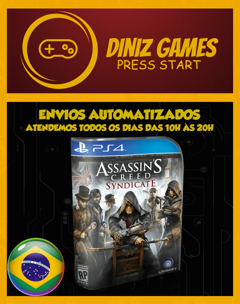 Ac Syndicate Psn Ps4 (bronze Original 2)