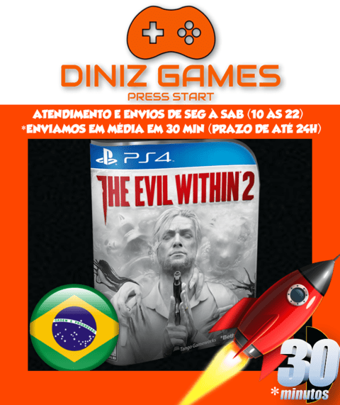 The Evil Within 2 Psn Ps4 (bronze Original 2) - comprar online