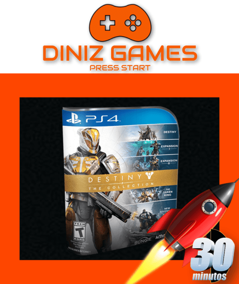 Destiny Collection Psn Ps4 (bronze Original 2)