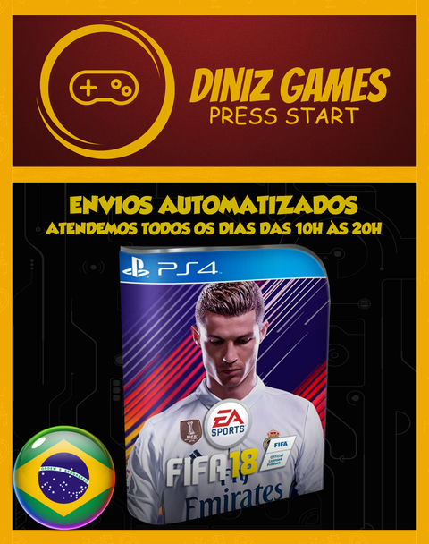 Fifa 18 (pt-br) Ps4 Psn (bronze Original 2)