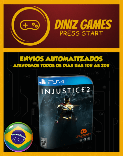 Injustice 2 (pt-br) Psn Ps4 (vip Original 1)