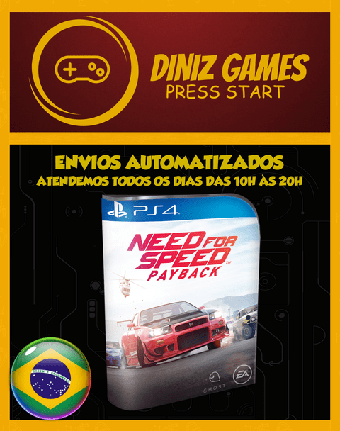 Need For Speed Payback Psn (vip Original 1)