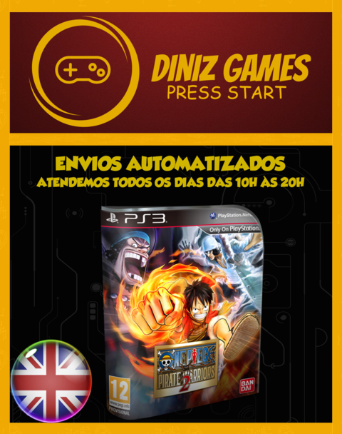 One Piece 2 Psn Ps3