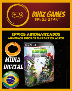 Plants Vs Zombies: Gardem Warfare Ps3 - comprar online