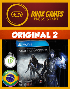 Middle Earth Shadow Of Mordor PS4 - comprar online