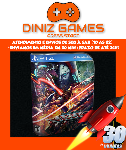 Strider Psn Ps4 (vip Original 1)
