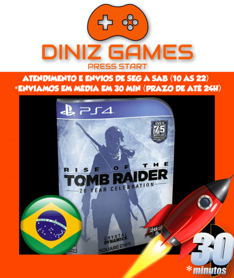 Rise of the Tomb Raider Psn (Aluguel 15 dias Original 2)