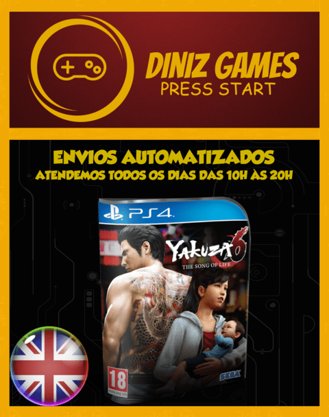 Yakuza 6 Ps4 Psn